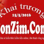 Khai trương blog SonZim.com
