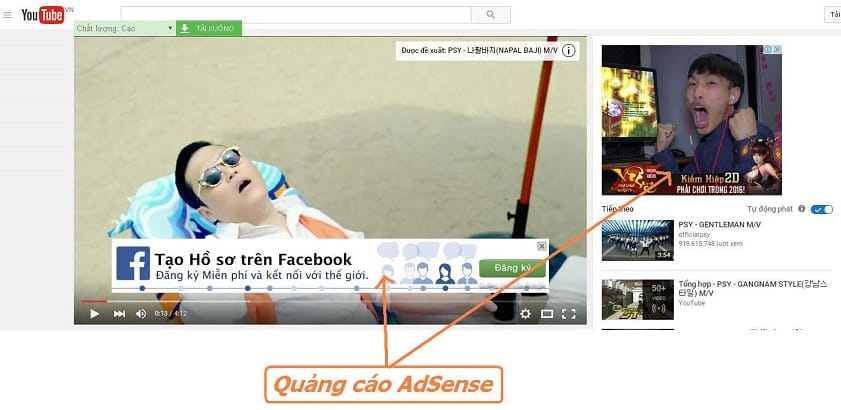 kiem tien tren youtube la the nao