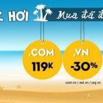 [Đã hết hạn] -Tenten giảm giá 30% tên miền .vn, chỉ còn 119k đối với tên miền .com .net