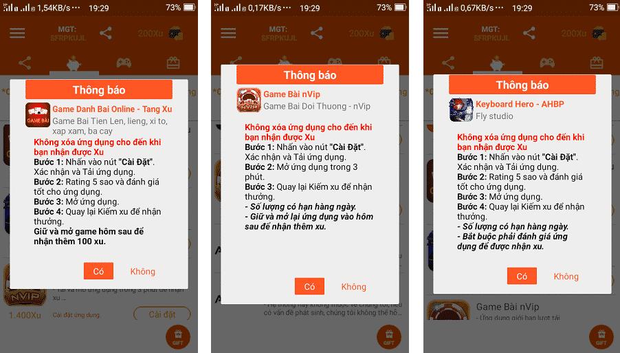 Kiem the cao dien thoai tu viec cai app tren android 3