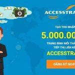 Kiếm tiền từ Blog với tiếp thị liên kết AccessTrade Việt Nam