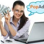 Kiếm tiền từ blog, website với mạng quảng cáo PopAds