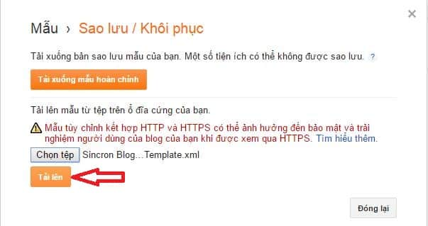 cach thay doi giao dien cho blogspot - 9