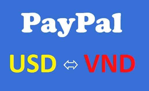 Tỷ giá trong PayPal USD – VNĐ? Cách kiểm tra