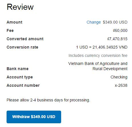 Cach kiem tra ty gia trong PayPal - Anh 4