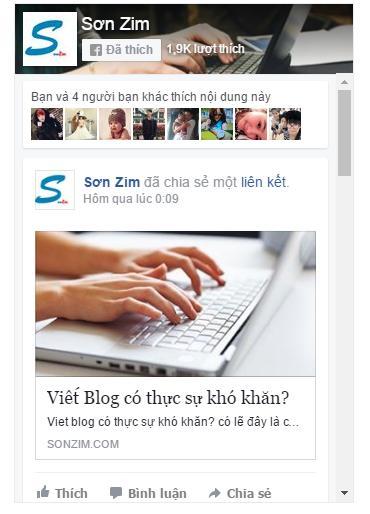 cach chen fanpage facebook vao website don gian - Anh 2