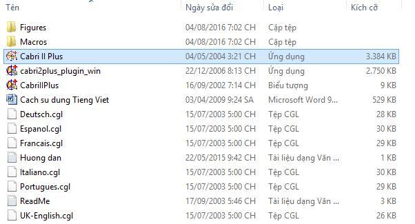download va cai dat cabri ii - phan mem ve hinh toan hoc - Anh 4