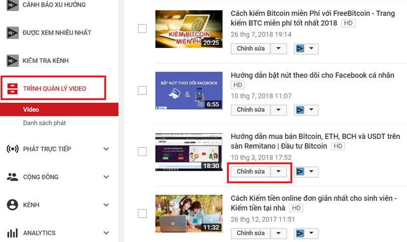 Hướng dẫn tạo màn hình kết thúc cho Youtube - Bước 2
