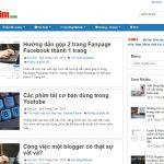 Thông báo về sự thay đổi giao diện blog Sơn Zim