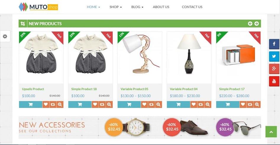 Top 20 theme WordPress tốt nhất cho website bán hàng - Ảnh theme 18