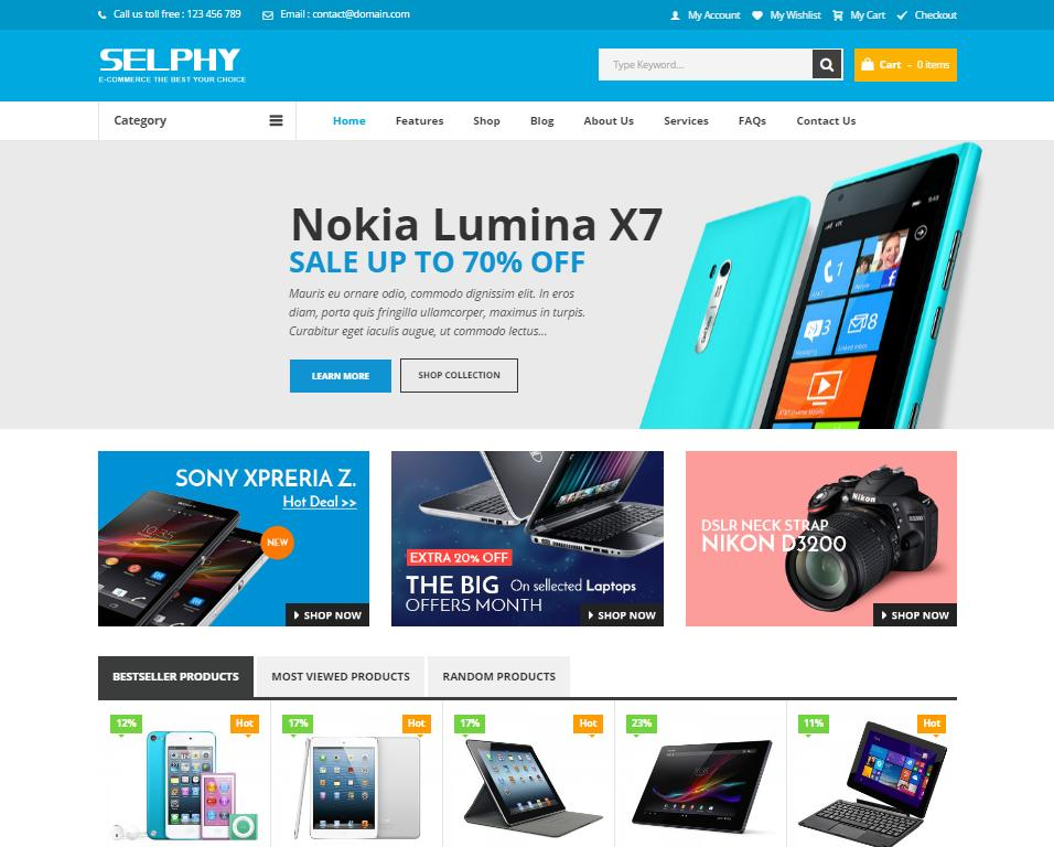 Website bán thiết bị