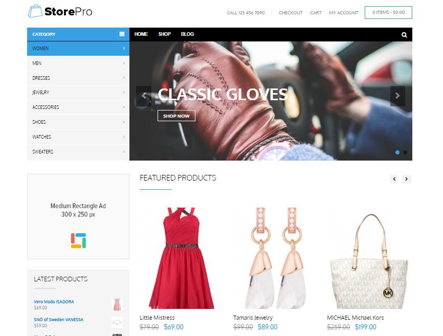 Top 20 theme WordPress tốt nhất cho website bán hàng - Ảnh theme 4