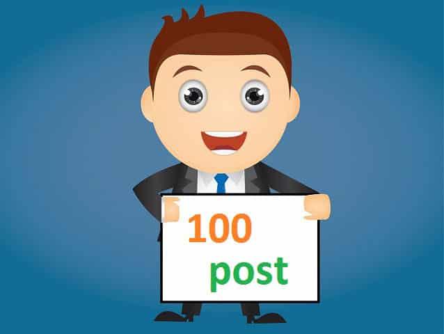 Bài viết thứ 100 của SonZim.com - Ảnh minh họa