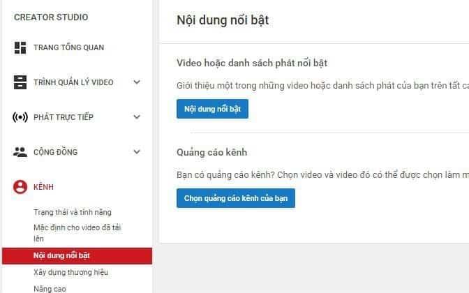 Các bước thiết lập kênh Youtube - 7