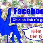 Phương pháp dùng facebook để kiếm tiền với rút gọn link