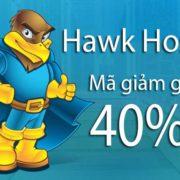 Mã giảm giá Hawk Host tháng 9/2018 – Giảm 40% hosting