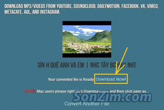 Cách tải file mp3 từ video trên YouTube đơn giản - 3