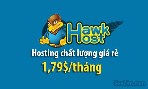 Hawk Host hosting giá rẻ nên dùng