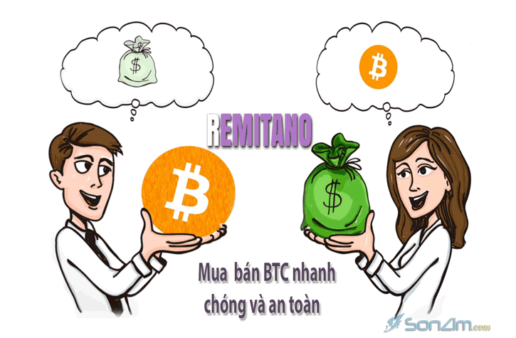 Mua bán bitcoin an toàn trên remitano