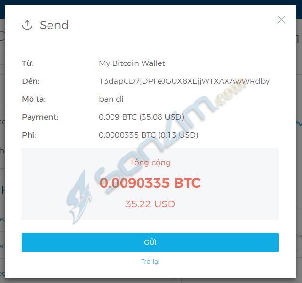 Cách gửi Bitcoin và Ethereum trên Blockchain - 10