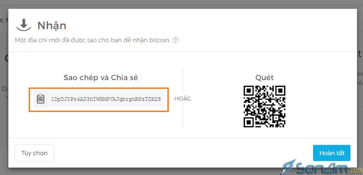 Cách tạo ví Bitcoin trên Blockchain mới nhất - 4