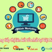 Top 15 trang tiếp thị liên kết ở Việt Nam tốt nhất 2018