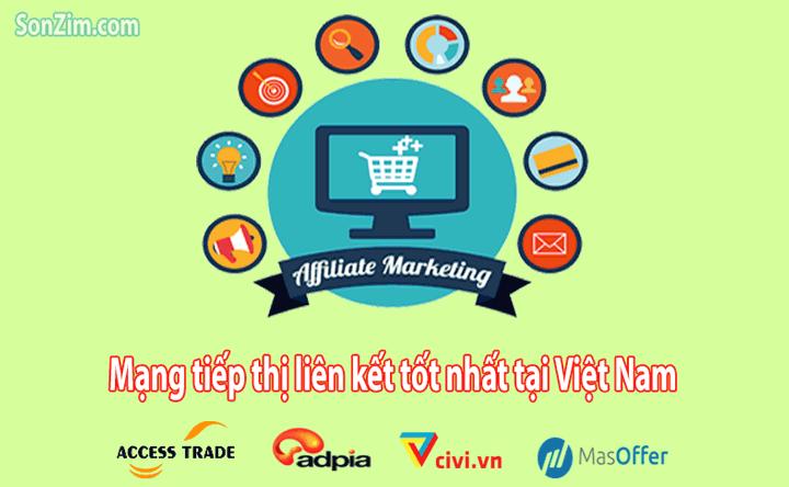 Những trang tiếp thị liên kết ở Việt Nam tốt nhất hiện nay