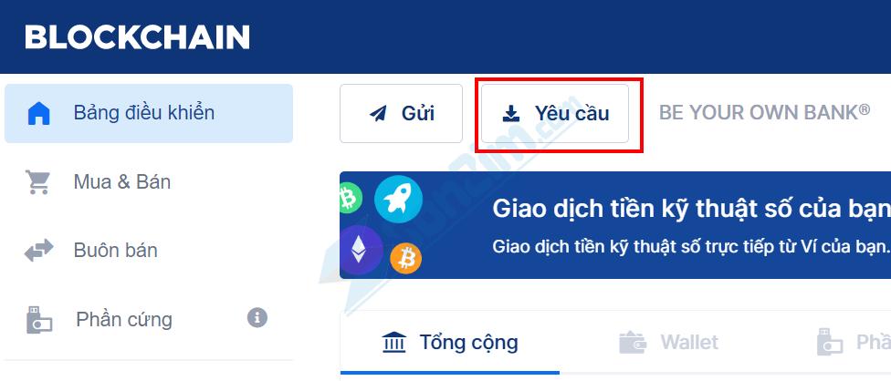 Cách lấy địa chỉ ví trên Blockchain