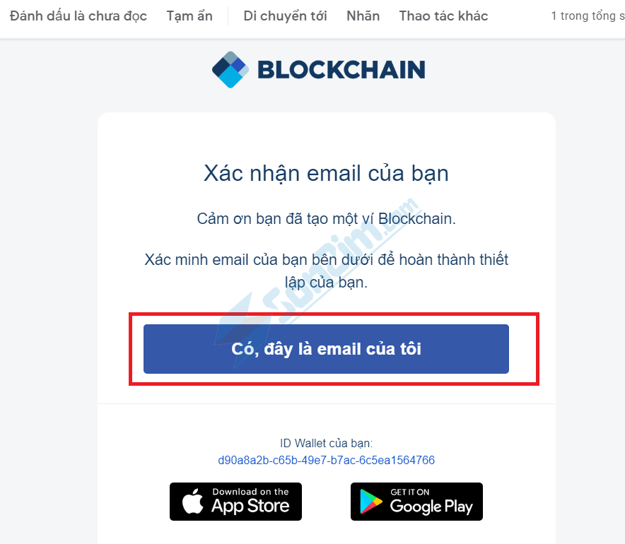 Cách tạo ví Blockchain - Bước 3