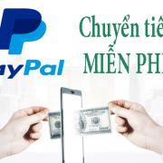 Cách chuyển tiền trên PayPal không mất phí
