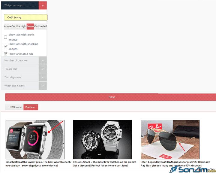 Hướng dẫn kiếm tiền từ blog với mạng quảng cáo PayClick - 6
