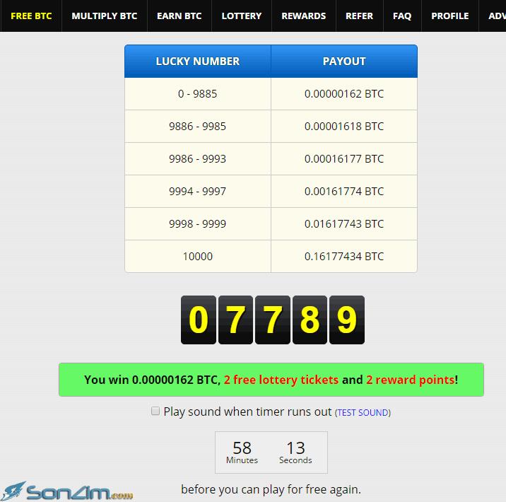Cách kiếm Bitcoin miễn phítrên FreeBitcoin - 3