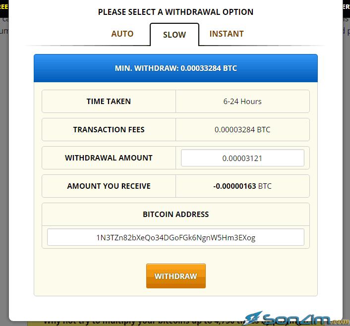 Cách rút bitcoin trênFreeBitcoin - 3