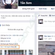 Cách hiển thị số người theo dõi bạn trên Facebook công khai