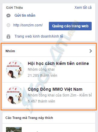 Hướng dẫn liên kết trang Fanpage với group (nhóm) Facebook - 6