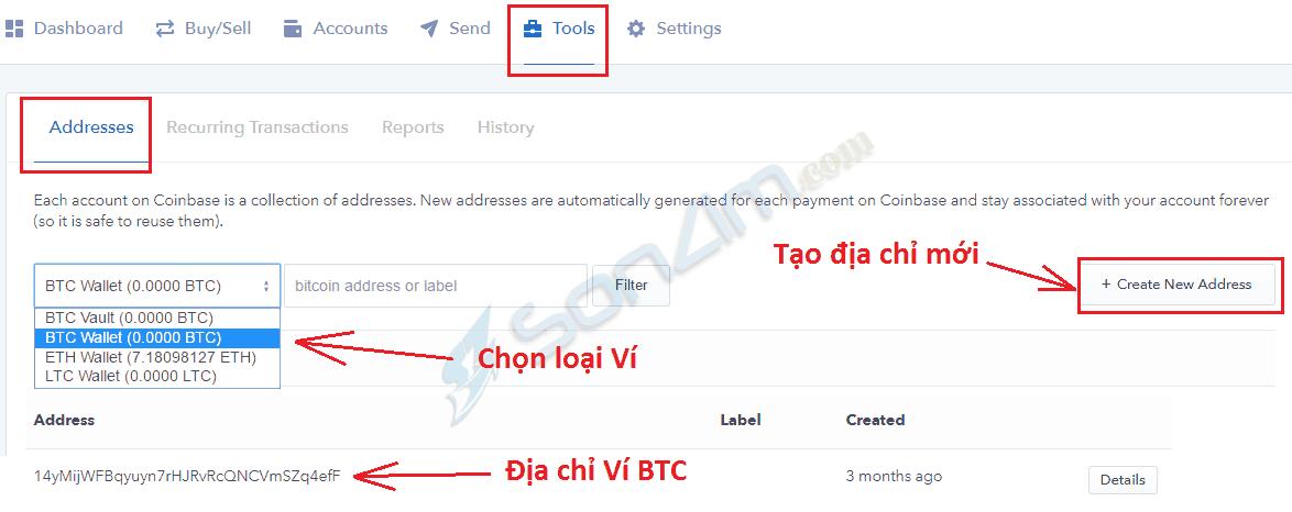 Cách tạo và sử dụng ví Coinbase để cất giữ Bitcoin