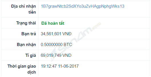 Hướng dẫn mua Bitcoin trên Santienao - 3