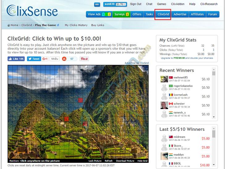 Cách kiếm tiền với ClixSense - 3