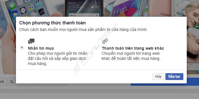 Tạo cửa hàng trên Fanpage Facebook - 6