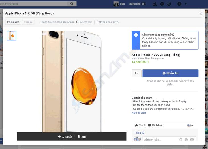 Tạo cửa hàng trên Fanpage Facebook - 7