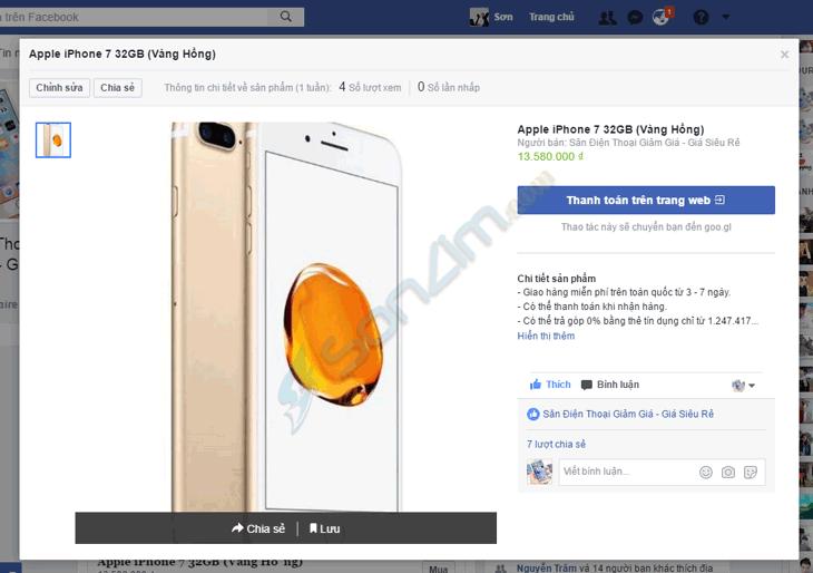 Tạo cửa hàng trên Fanpage Facebook - 8