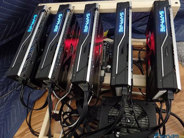 Thiết bị khai thác Bitcoin và các loại tiền ảo khác