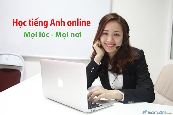Học tiếng Anh online mọi lúc mọi nơi