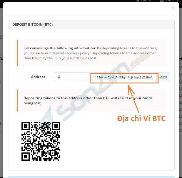 Hướng dẫn giao dịch bitcoin và các loại tiền ảo khác trên sàn Bittrex - 4