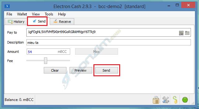 Hướng dẫn cách tạo Ví Bitcoin Cash với Electron Cash - 11