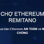 Hướng dẫn mua bán Ethereum trên sàn Remitano