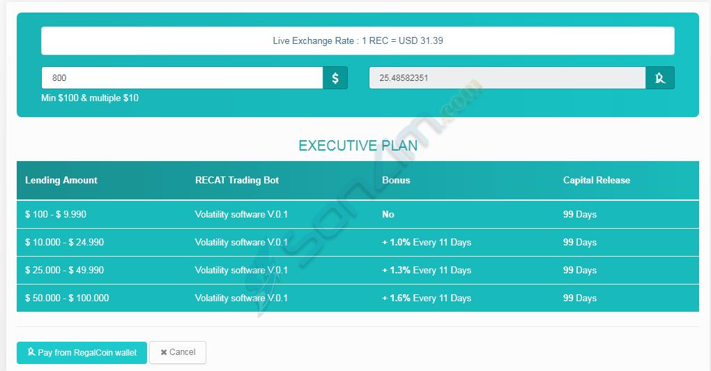 Hướng dẫn đầu tư RegalCoin - 27