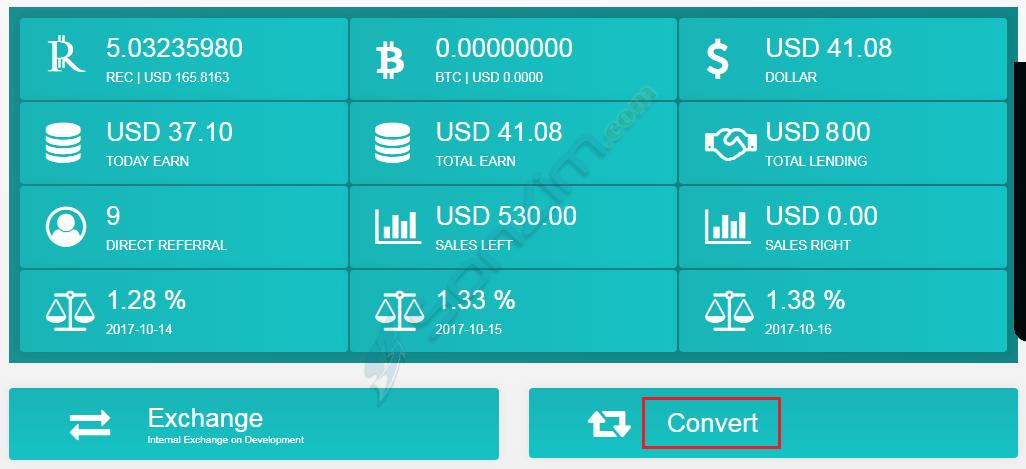 Hướng dẫn đầu tư RegalCoin - 30