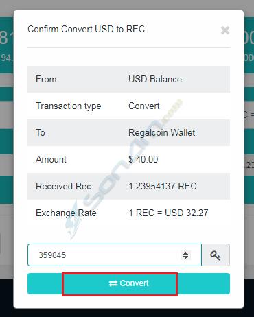 Hướng dẫn đầu tư RegalCoin - 32