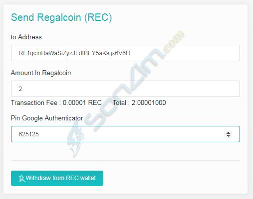 Hướng dẫn đầu tư RegalCoin - 33